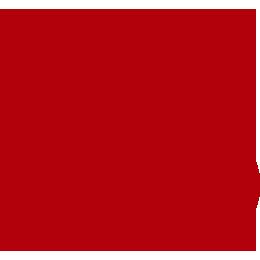 Groupe Aladin | Grande icône rouge détourée d'un ventilateur